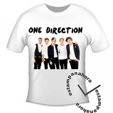 Camiseta One Direction, Musica, Banda, Teen, 1d, Idolos Teen